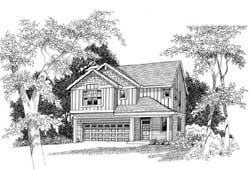 Craftsman Style Floor Plans Plan: 44-526