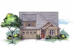 Bungalow Style Floor Plans Plan: 44-527
