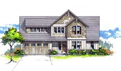 Craftsman Style House Plans Plan: 44-530