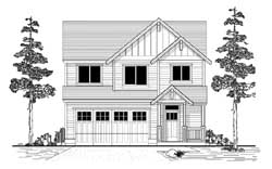 Craftsman Style Floor Plans Plan: 44-531