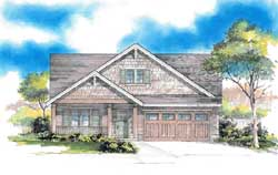 Craftsman Style House Plans Plan: 44-532