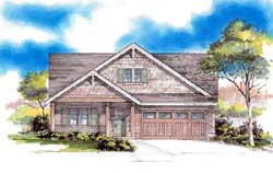 Craftsman Style Floor Plans Plan: 44-534