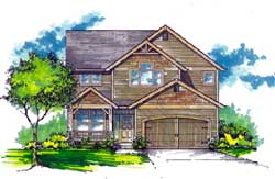 Craftsman Style Floor Plans Plan: 44-540