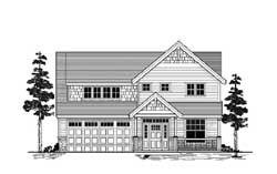 Craftsman Style House Plans Plan: 44-545