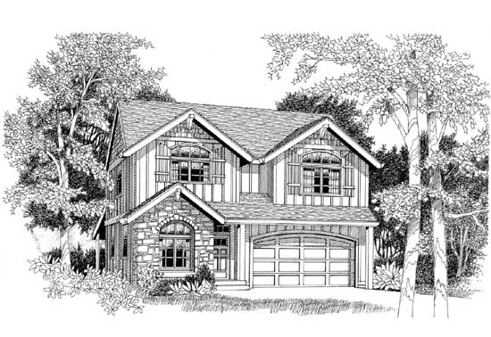 Craftsman Style House Plans Plan: 44-547