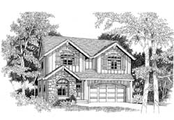 Craftsman Style Floor Plans Plan: 44-547
