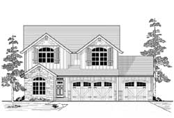 Country Style House Plans Plan: 44-548
