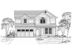 Craftsman Style Floor Plans Plan: 44-552