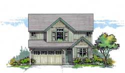Craftsman Style House Plans Plan: 44-554
