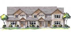 Craftsman Style Floor Plans Plan: 44-556