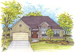 Traditional Style House Plans 45-103