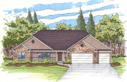 Traditional Style Floor Plans 45-111