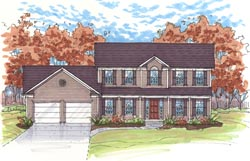 Southern Style House Plans Plan: 45-113