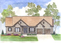Traditional Style House Plans Plan: 45-116