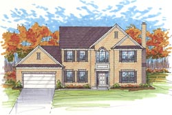 Traditional Style Floor Plans Plan: 45-118
