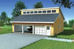 Traditional Style Home Design Plan: 46-105