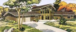 Contemporary Style Home Design Plan: 46-133