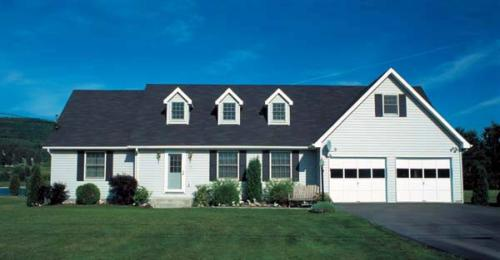 Cape-Cod Style House Plans Plan: 46-134