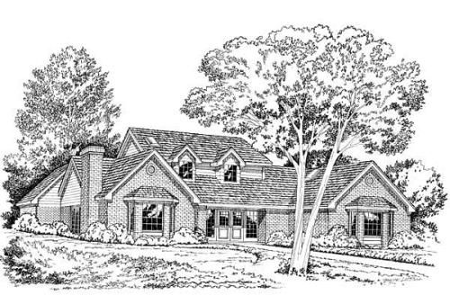 Traditional Style House Plans Plan: 46-138
