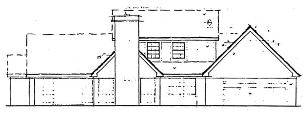 Rear Elevation Plan: 46-138