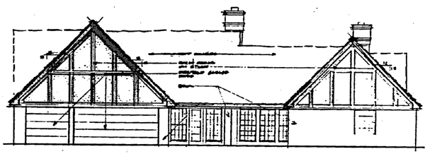 Rear Elevation Plan: 46-142