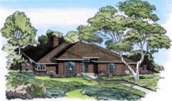 European Style House Plans Plan: 46-147