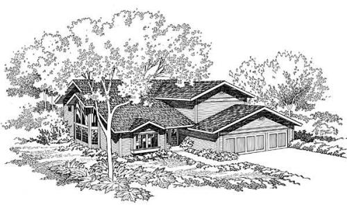 Traditional Style House Plans Plan: 46-150