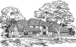 Traditional Style Home Design Plan: 46-158
