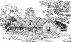 Farm Style House Plans Plan: 46-172