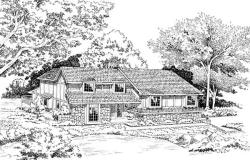 Contemporary Style Floor Plans Plan: 46-176