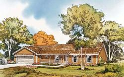 Country Style Home Design Plan: 46-177