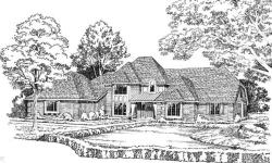 Traditional Style Home Design Plan: 46-181
