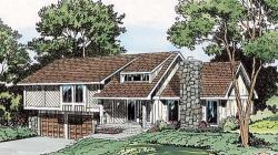 Contemporary Style Floor Plans Plan: 46-188