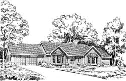 Traditional Style House Plans Plan: 46-195
