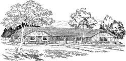 Tudor Style Floor Plans Plan: 46-196