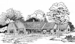 Country Style House Plans Plan: 46-198