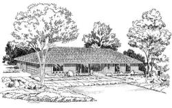 Traditional Style House Plans Plan: 46-207