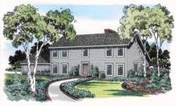 Cape-Cod Style Floor Plans Plan: 46-209
