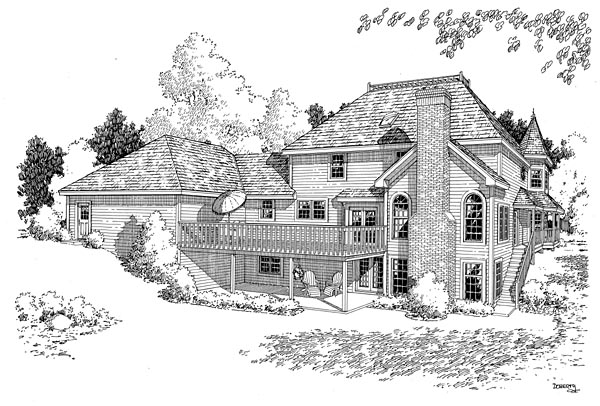Rear Elevation Plan: 46-220