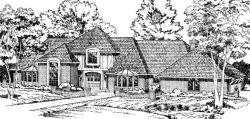 Traditional Style House Plans Plan: 46-226