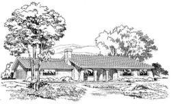 Spanish Style House Plans Plan: 46-227