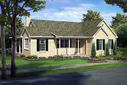 Traditional Style Floor Plans Plan: 46-229