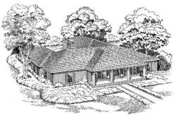 Traditional Style House Plans Plan: 46-230