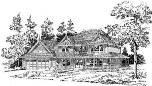 Farm Style Floor Plans Plan: 46-236