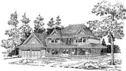 Farm Style Floor Plans Plan: 46-236