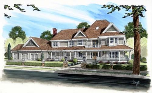 Victorian Style House Plans Plan: 46-237