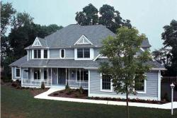 Country Style Home Design Plan: 46-241
