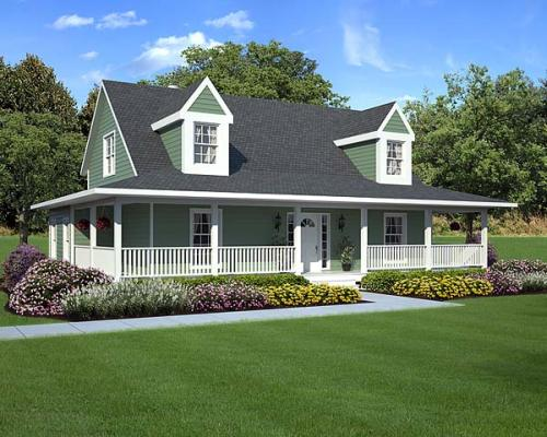 Country Style House Plans Plan: 46-243