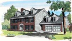 Colonial Style Floor Plans Plan: 46-246