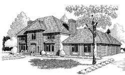 European Style Floor Plans Plan: 46-247